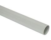 ДКС Труба ПВХ жёсткая гладкая д.63мм, лёгкая, 3м, цвет серый