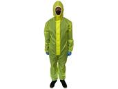 Средства ГО Комбинезон защитный с капюшоном из текстильного материала Таффета(Желтый, 60 г/м²), размер M
