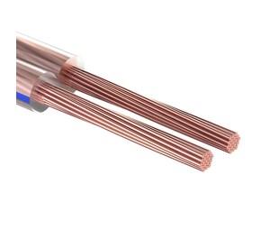 ProConnect Кабель акустический, 2х0.75 мм?, прозрачный BLUELINE, 100 м. PROCONNECT