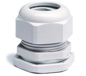 ДКС Зажим кабельный с контргайкой, IP68, PG29, д.15-25мм
