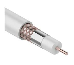 ProConnect Кабель RG-6U+Cu,(48%), 75 Ом, 100м., белый PROCONNECT