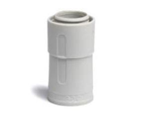 ДКС Переходник армированная труба-жесткая труба, IP67, д.25мм